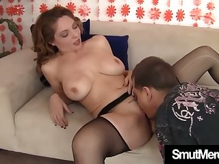 Jizz addicted sexpot Kiki Daire loves missionary position and she's nasty