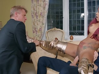 Kiki Minaj gets banged hard by cuckolded husband's colleague Danny D