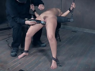 Extreme hardcore pussy and ass punishment for Gabriella Paltrova